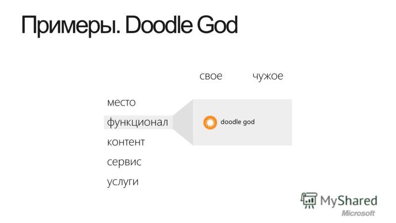 Примеры. Doodle God