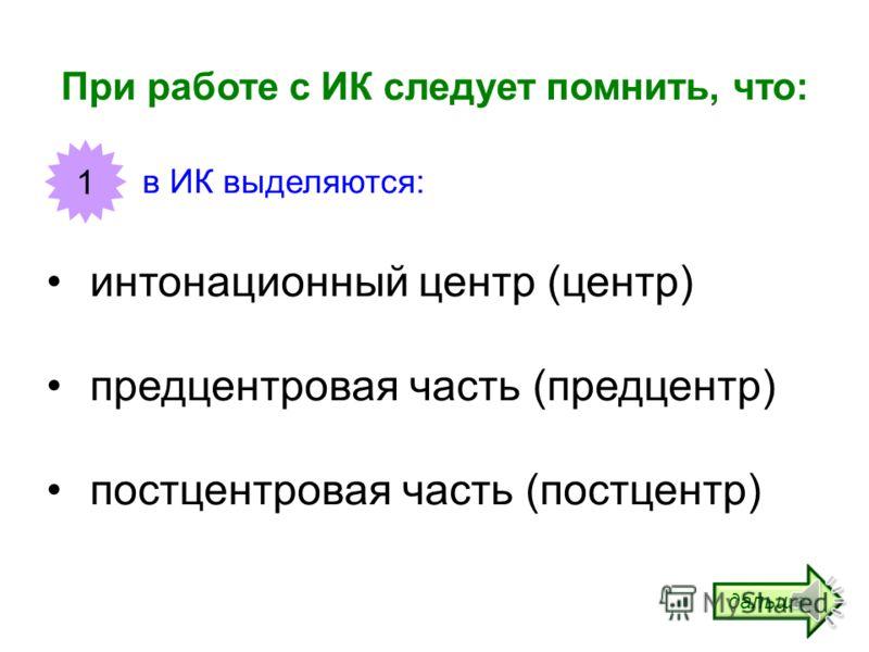 Интонационные конструкции (ИК) Часть 1 УРЯ!ру: учим русский язык! http://www.urya.ru дальше
