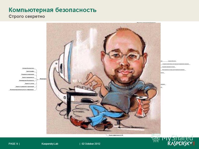 Компьютерная безопасность Строго секретно | 28 August 2012Kaspersky LabPAGE 9 |