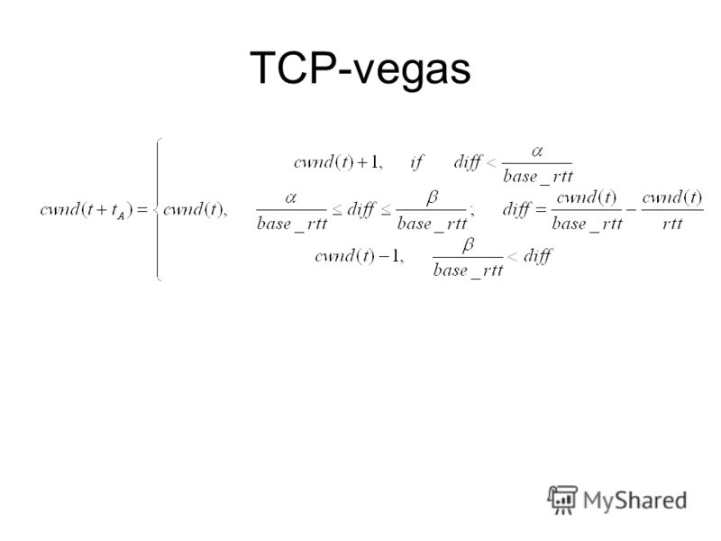 TCP-vegas