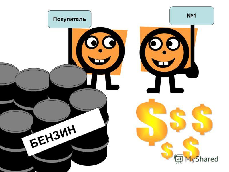 + t 1 t Покупатель БЕНЗИН