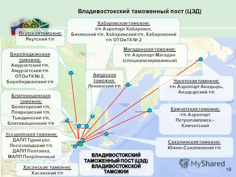 Владивостокский таможенный пост (ЦЭД) 10