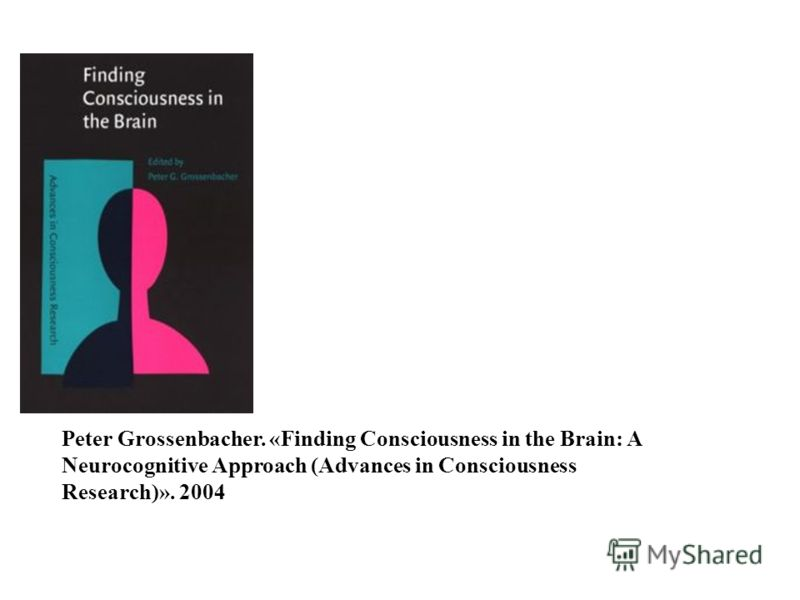 Peter Grossenbacher. «Finding Consciousness in the Brain: A Neurocognitive Approach (Advances in Consciousness Research)». 2004