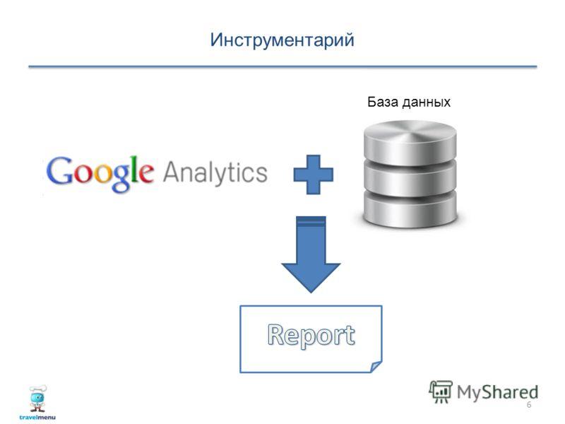Инструментарий 6 База данных