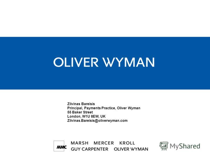 22 © 2009 Oliver Wyman www.oliverwyman.com Общая позиция по платежам должна учитывать дополнительные факторы Выработка решений Расширение возможностей Интересы множества сторон Бизнес-модель Динамика конкуренции и регуляторных ограничений Не планируй