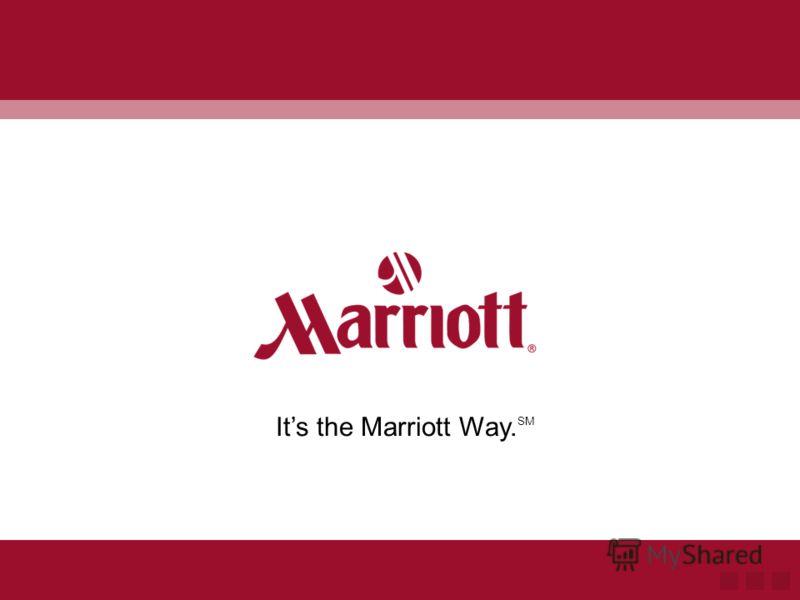 Мы знаем, что у Вас есть выбор... Спасибо, что выбираете Marriott
