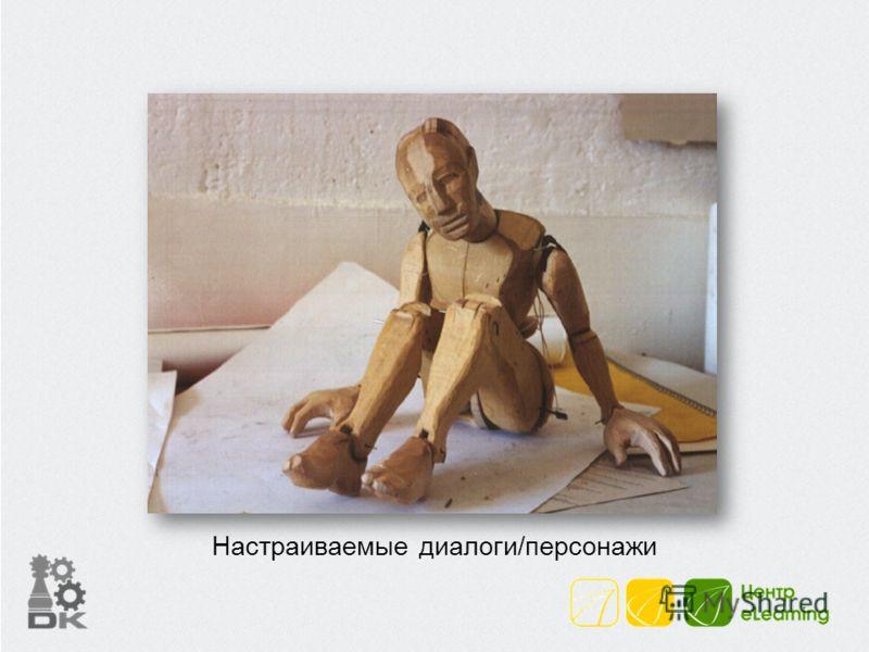 Настраиваемые диалоги/персонажи