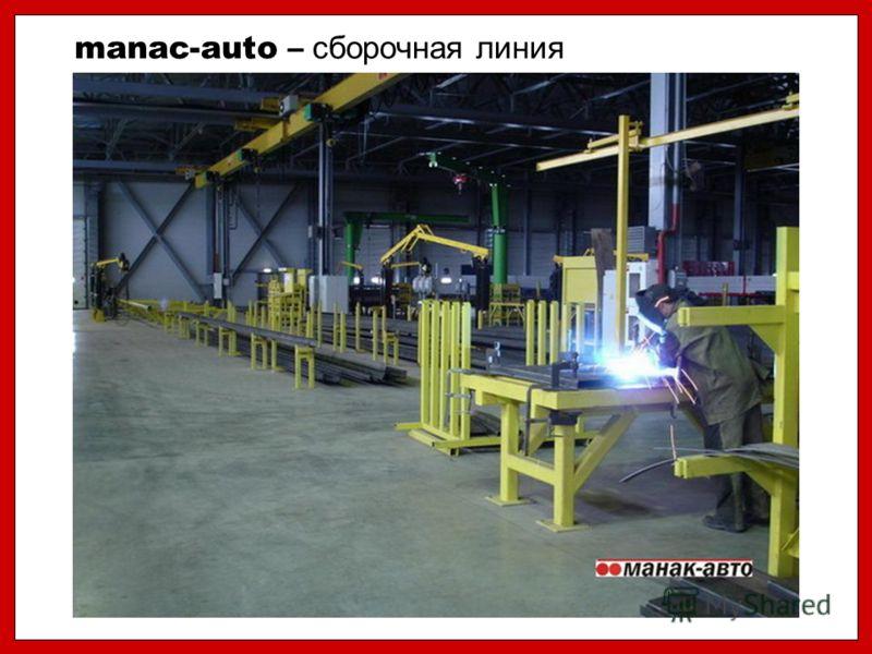 manac-auto – сборочная линия