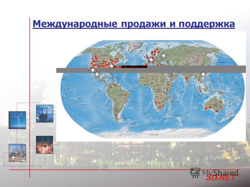 Международные продажи и поддержка