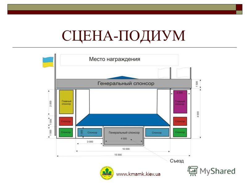 СЦЕНА-ПОДИУМ www.kmamk.kiev.ua