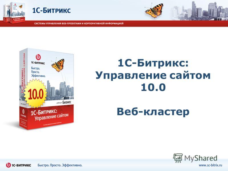 1С-Битрикс: Управление сайтом 10.0 Веб-кластер