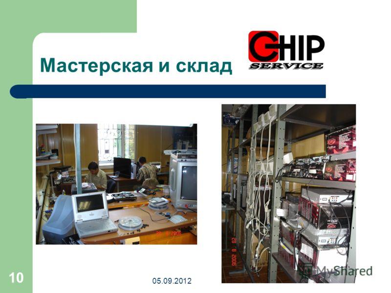 05.09.2012 10 Мастерская и склад