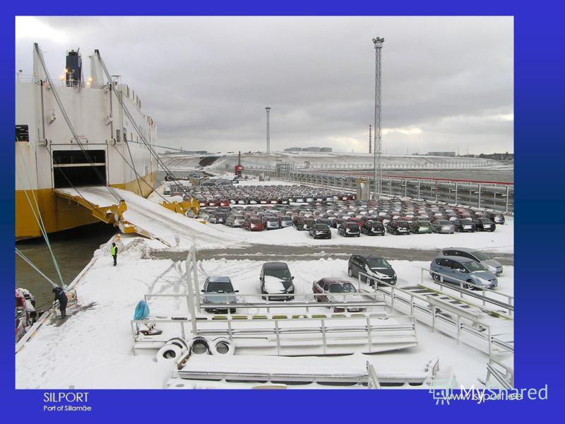 SILPORT Port of Sillamäe www.silport.ee