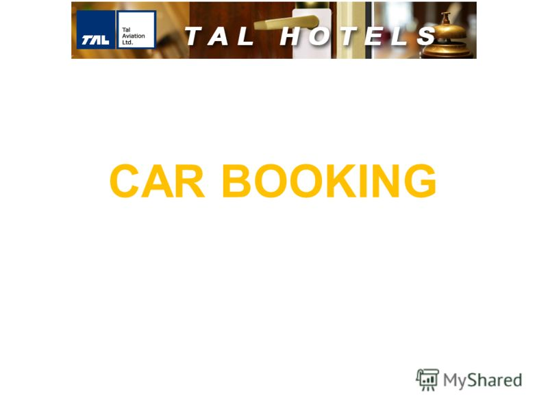 CAR BOOKING