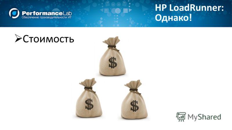 Однако! HP LoadRunner: Стоимость