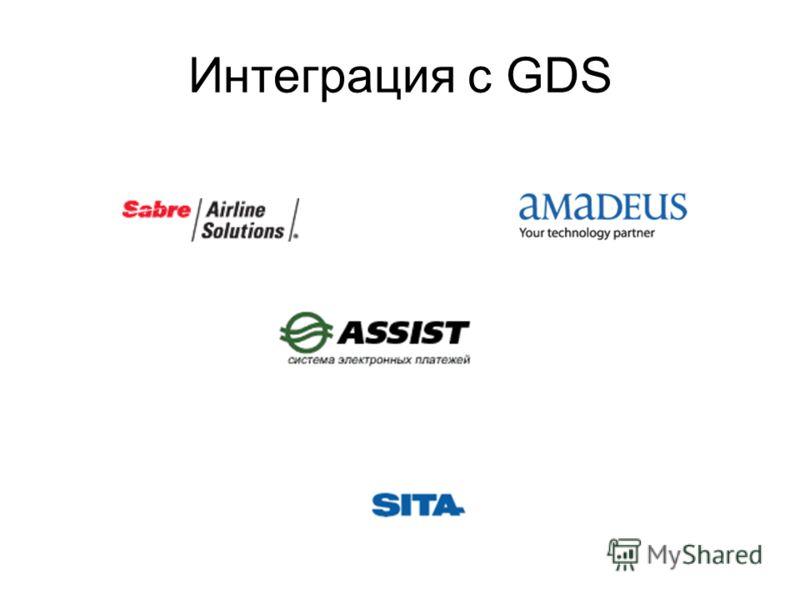 Интеграция с GDS