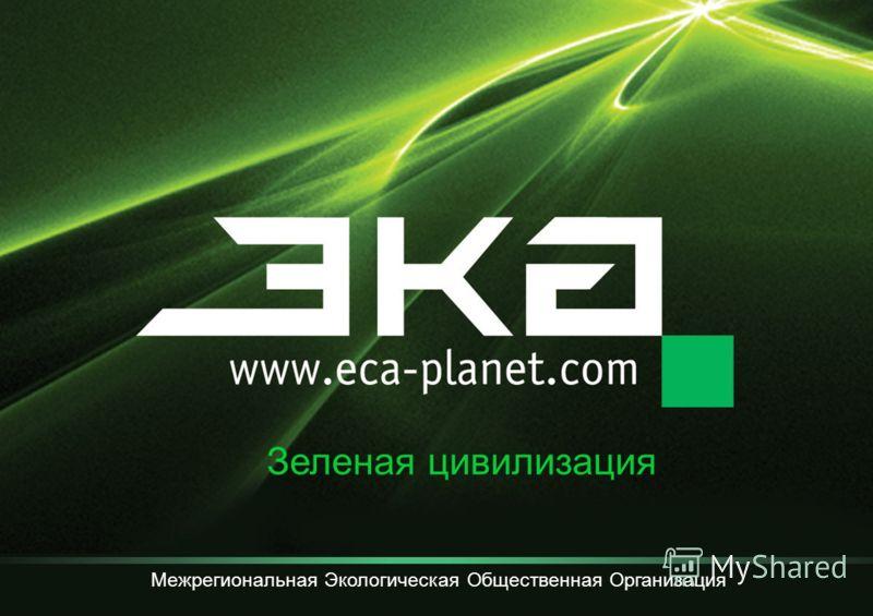 Зеленая цивилизация Межрегиональная Экологическая Общественная Организация