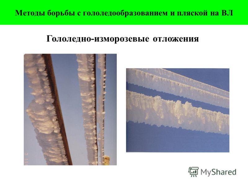 Гололедно-изморозевые отложения