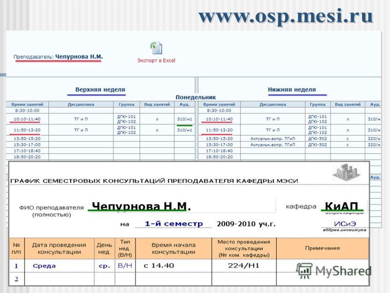 2009-2010 уч.г. Чепурнова Н.М. КиАП