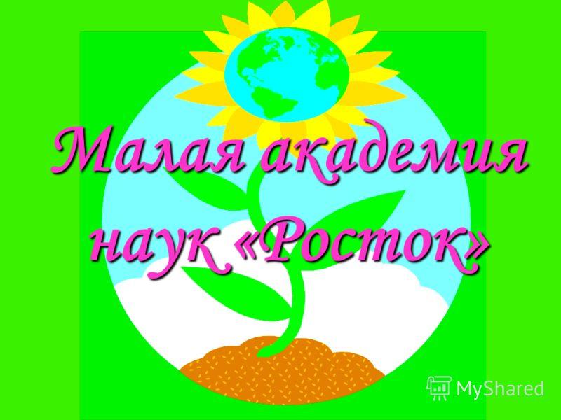 Малая академия наук «Росток»
