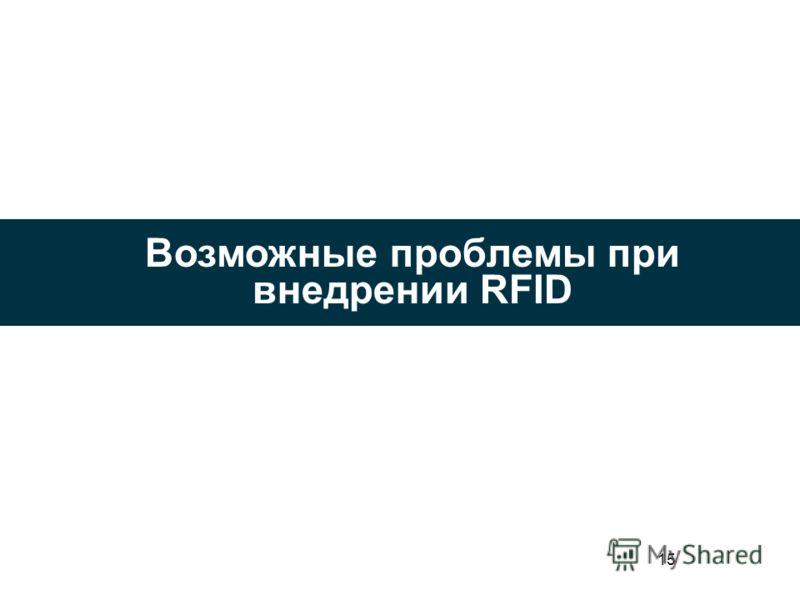 15 Возможные проблемы при внедрении RFID