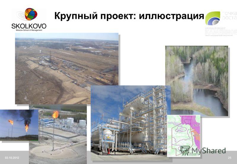 21.07.2012Moscow School of Management SKOLKOVO25 Крупный проект: иллюстрация