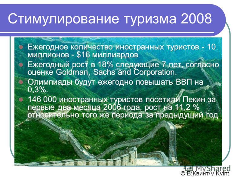 Стимулирование туризма 2008 © В.Квинт/V.Kvint