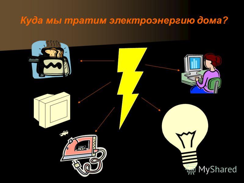 Куда мы тратим электроэнергию дома?