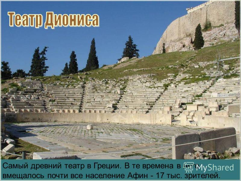 Слово театр означает «место для зрелища» или само «зрелище». Перед вами греческий театр, в котором давали представление для публики. Театр в Дельфах, IV в. до н. э. Современный вид Возникновение театра