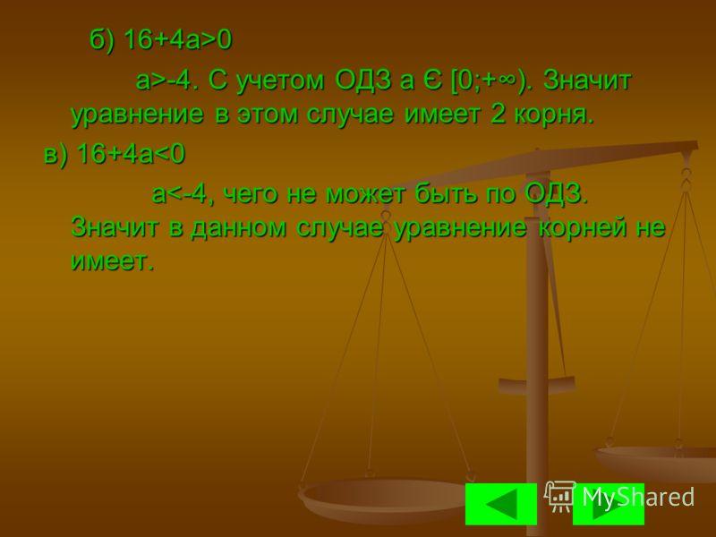 А теперь решим данное уравнение аналитическим способом. А теперь решим данное уравнение аналитическим способом. |x 2 -2x-3|=a |x 2 -2x-3|=a 1) Сразу скажем, что при а