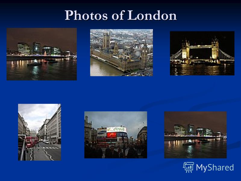 Photos of London