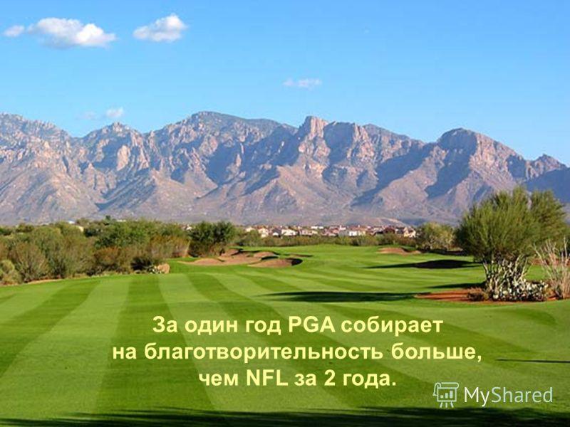 Если гольфист ошибается, его никто не покрывает и не защищает.