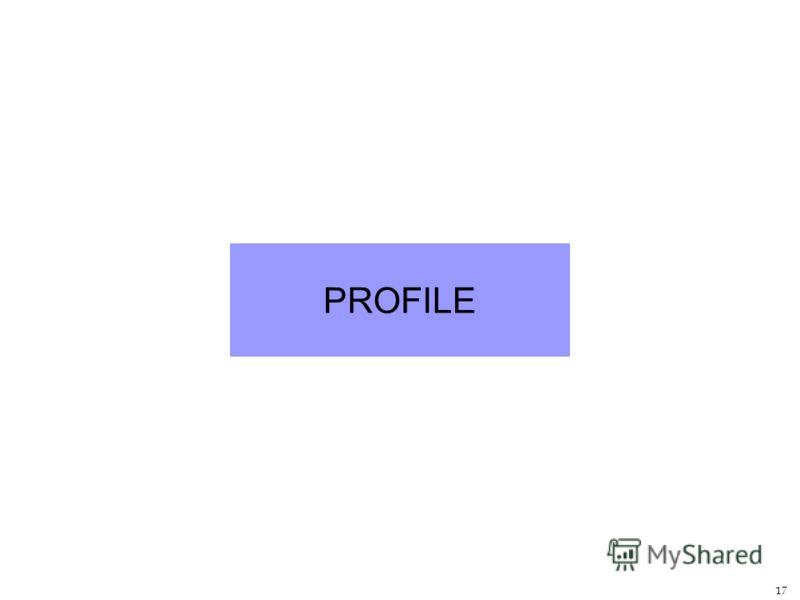 17 PROFILE