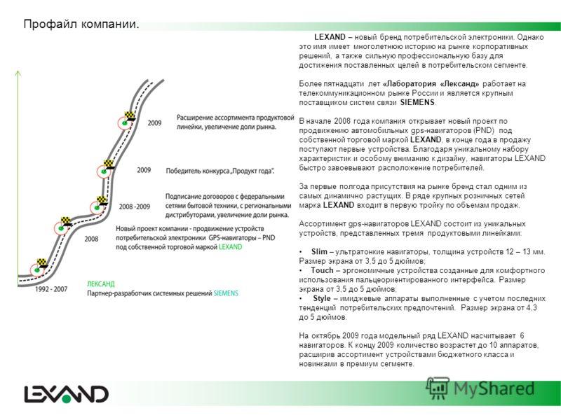 LEXAND – новый бренд потребительской электроники. Однако это имя имеет многолетнюю историю на рынке корпоративных решений, а также сильную профессиональную базу для достижения поставленных целей в потребительском сегменте. Более пятнадцати лет «Лабор