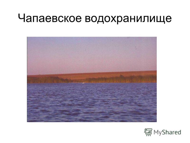Чапаевское водохранилище