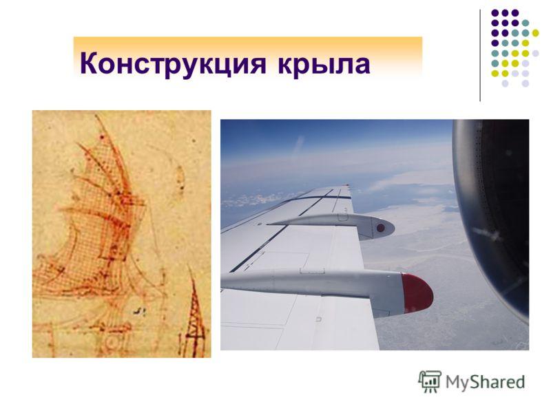 Конструкция крыла