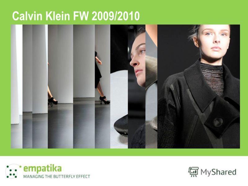 Calvin Klein FW 2009/2010