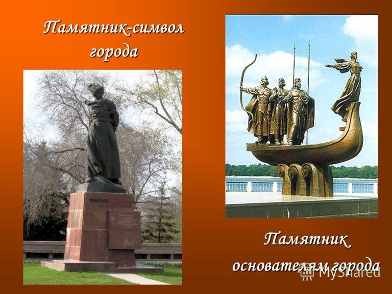 Памятник основателям города Памятник-символ города