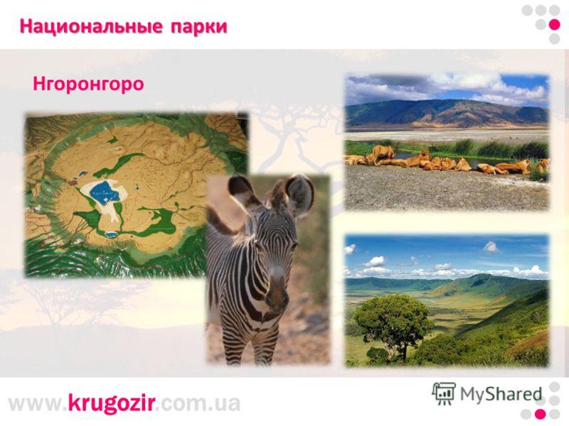 www.krugozir.com.ua Танзания. Килиманджаро. Национальные парки Нгоронгоро