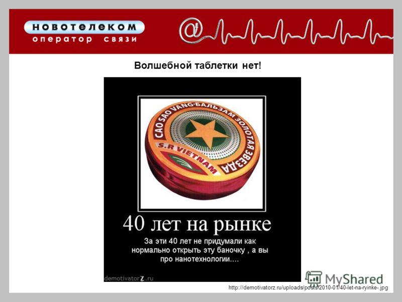 Волшебной таблетки нет! http://demotivatorz.ru/uploads/posts/2010-01/40-let-na-ryinke-.jpg