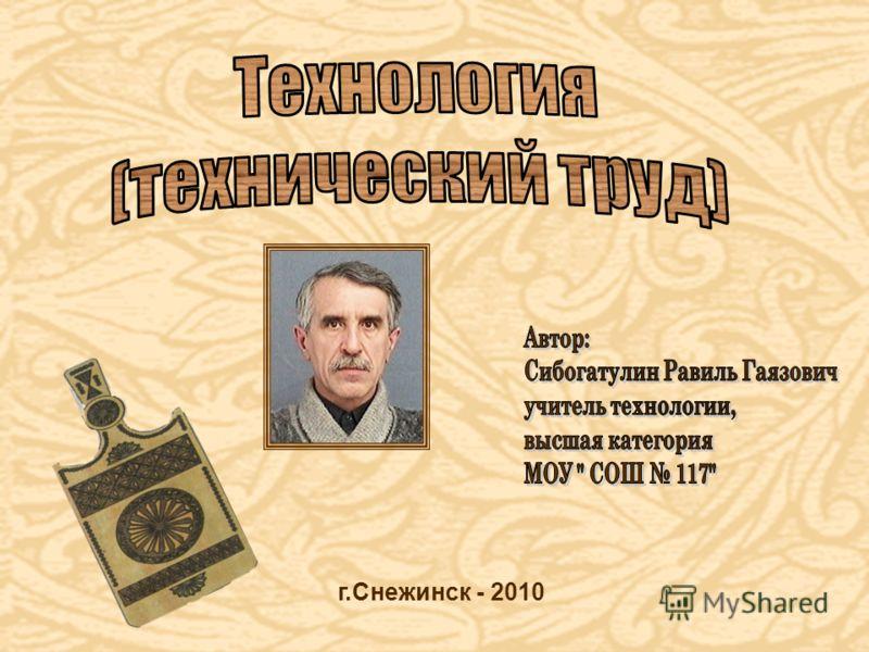 г.Снежинск - 2010