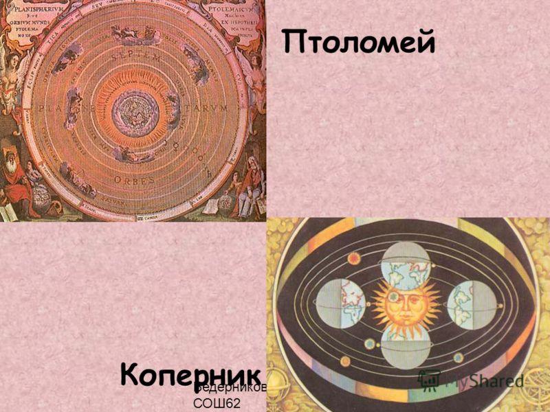 Ведерникова Т.П. МОУ СОШ62 Птоломей Коперник