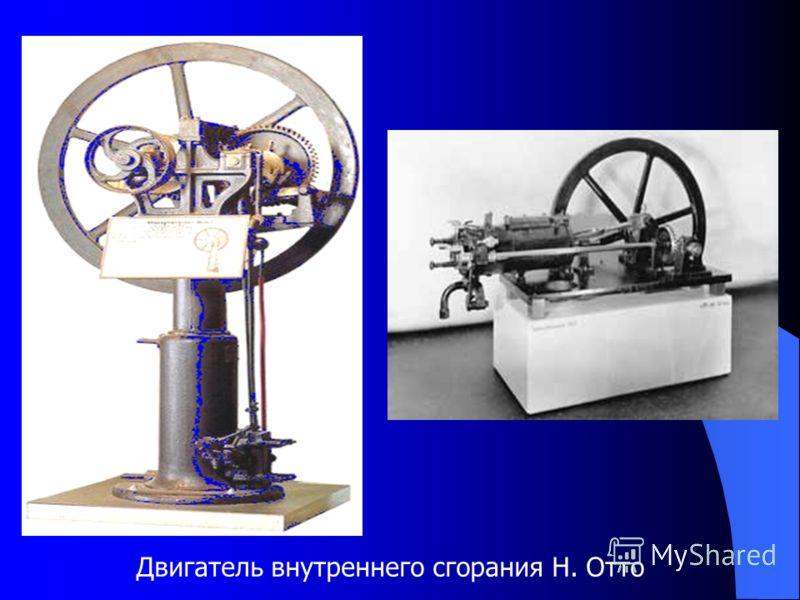Двигатель внутреннего сгорания Н. Отто