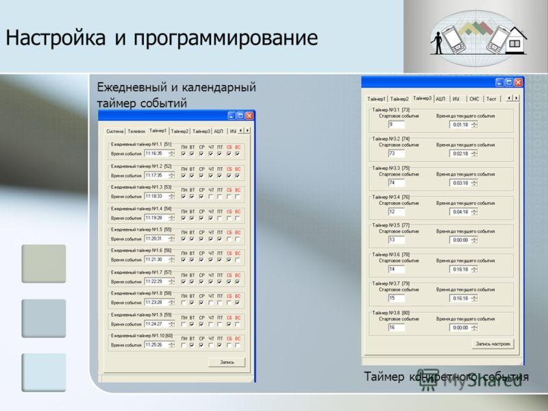 Настройка даты, времени, температурного режима, оператора сотовой связи Запись номеров телефона и настройка групп дозвона Настройка и программирование
