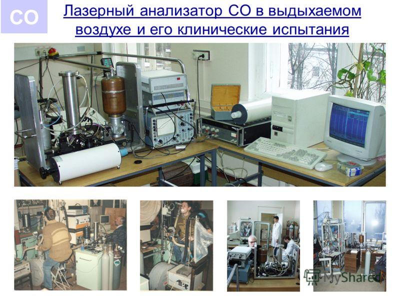 Лазерный анализатор СО в выдыхаемом воздухе и его клинические испытания СО