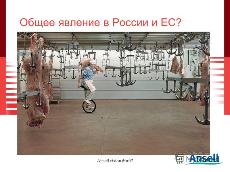 Ansell vision draft2 Общее явление в России и ЕС?