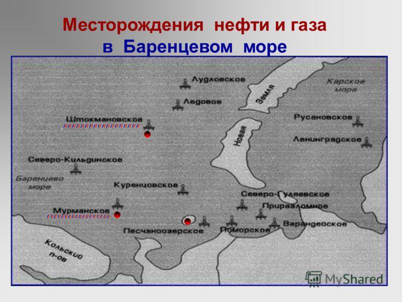 Месторождение на острове Колгуев даёт около 1 млн. тонн нефти в год !