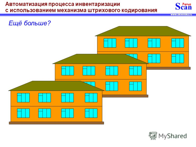 S can Parus www.oknemika.ru Автоматизация процесса инвентаризации с использованием механизма штрихового кодирования Ещё больше?