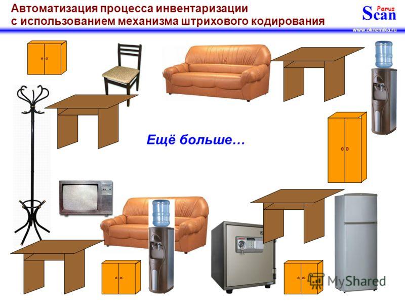 S can Parus www.oknemika.ru Автоматизация процесса инвентаризации с использованием механизма штрихового кодирования Надеемся, что этого имущества у Вас конечно больше…