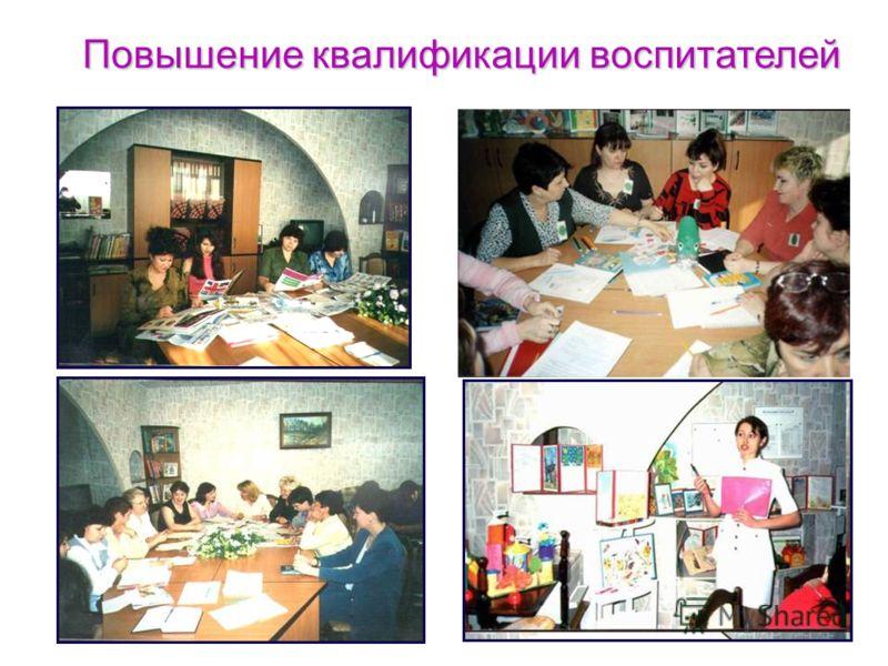 Повышение квалификации воспитателей